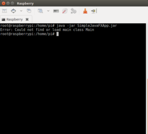 Simple Javafx application for Raspberry PI 3 – Yuriy Maltsev